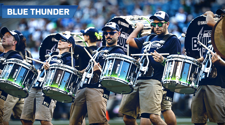 Blue Thunder performing at CenturyLink Field