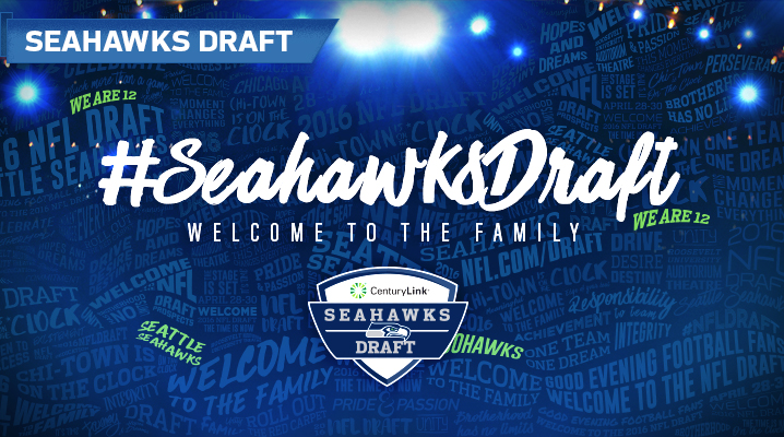 #SeahawksDraft - Welcome to the Family, Presented by CenturyLink