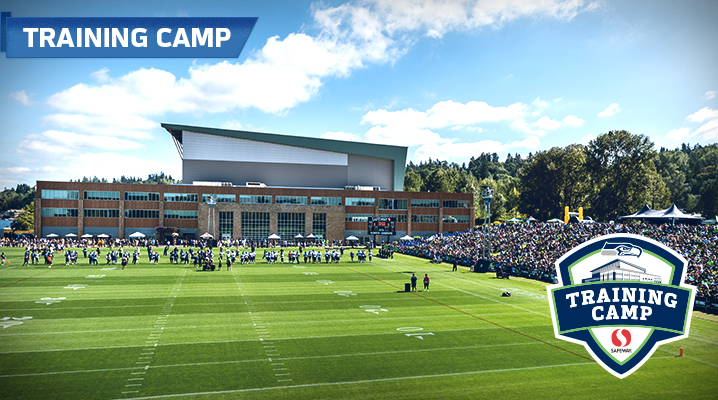 View of VMAC outdoor practice facility during Training Camp