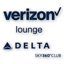Verizon Lounge and Delta Sky360 Club