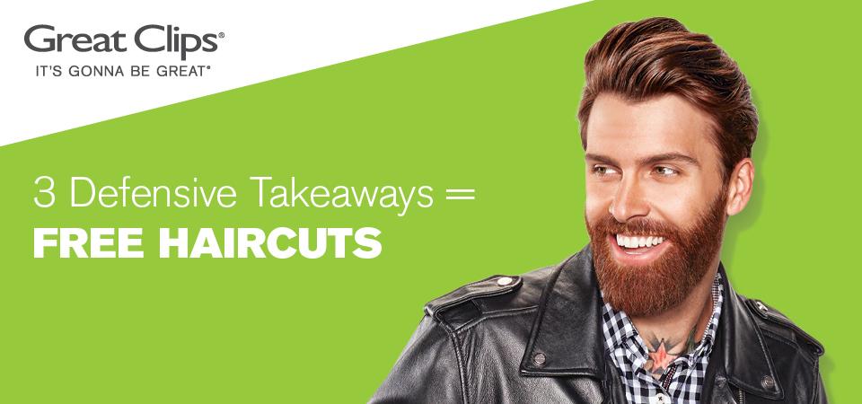 3 Defensive Takeaways = Free Haircuts