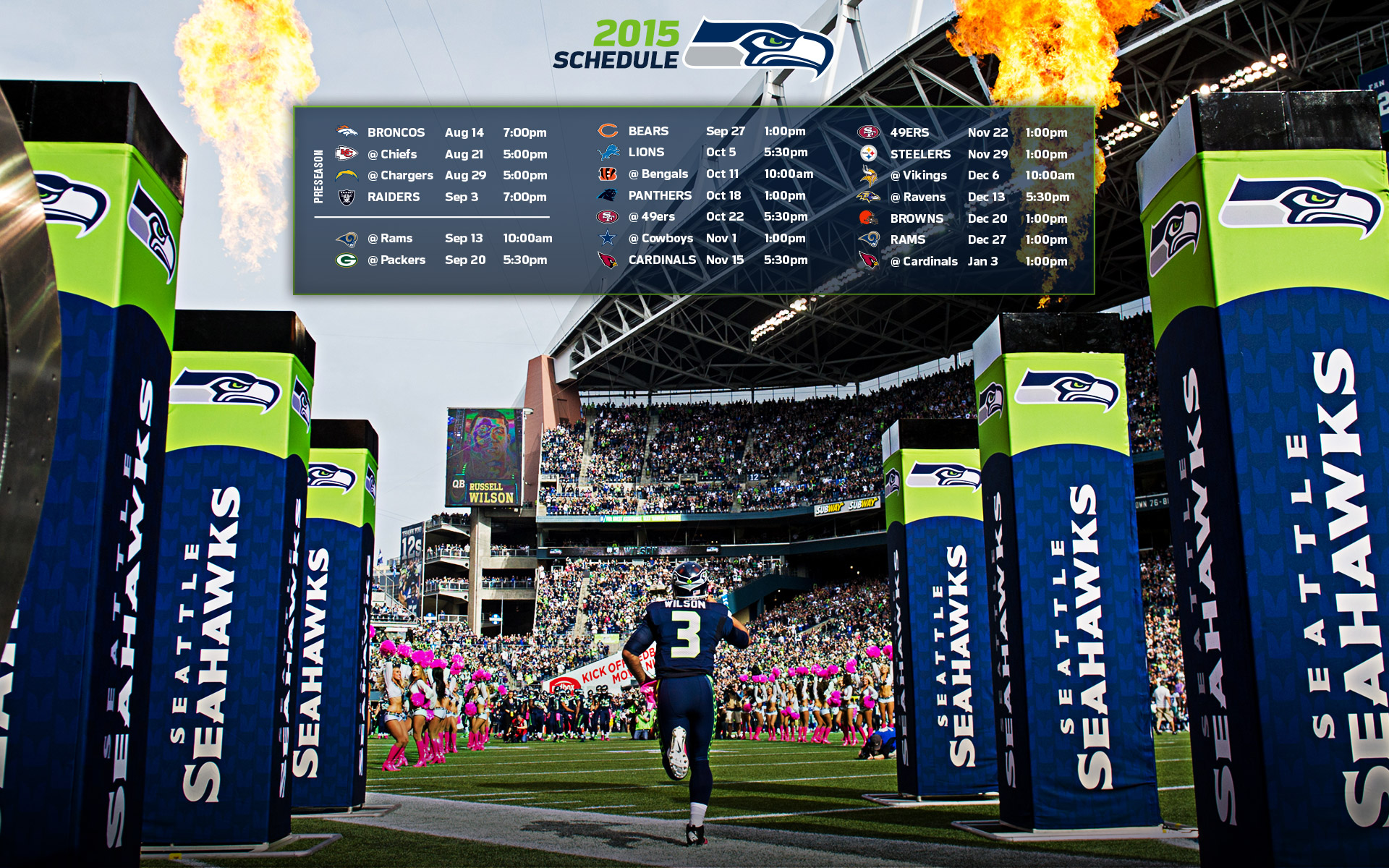 Seahawks Wallpapers | Seattle Seahawks