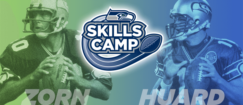 Seahawks Skills Camp, with coaches Jim Zorn and Brock Huard