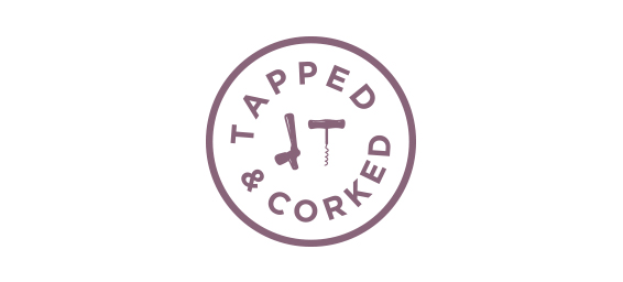 Tapped and Corked logo