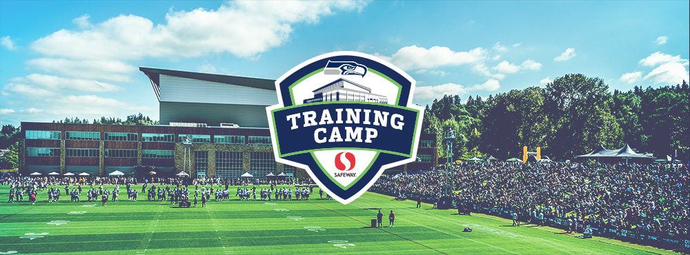 Seahawks Training Camp at the Virginia Mason Athletic Center